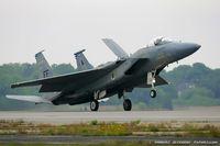 81-0020 @ KOQU - F-15C Eagle 81-0020 FF from 71st FS Iromen 1st FW Langley AFB, VA - by Dariusz Jezewski www.FotoDj.com