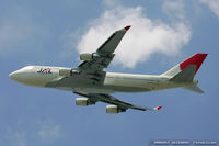 JA8919 @ KJFK - Boeing 747-446 - Japan Airlines - JAL  C/N 27100, JA8919