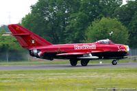 N117BR @ KNXX - PZL Mielec Lim-5 (MiG-17F)  C/N 1C1529, NX117BR