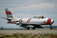 N186FS @ KOQU - Canadair F-86E Mk.VI Sabre  C/N 1461 - Ed Shipley, N186FS