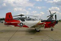 160529 @ KNXX - T-34C Turbo Mentor 160529 E-529 from  TAW-5 NAS Oceana, VA