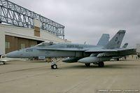 163146 @ KOQU - F/A-18A Hornet 163146 DR-206 from VMFA-312 Checkboards  MCAS Beaufort, SC