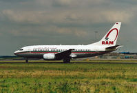 CN-RNR @ EHAM - In its first livery without winglets - by Jan Bekker