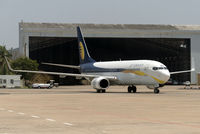 VT-JBE @ VOMM - Taxiing in to Chennai International.