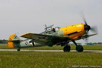 CF-EML @ KYIP - Messerschmitt Bf-109E-4  C/N 3579, CF-EML