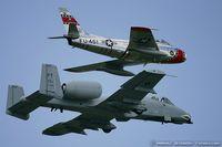 N186FS @ KYIP - Canadair F-86E Mk.VI Sabre  C/N 1461 - Ed Shipley, N186FS