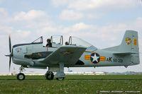 N221LH @ KYIP - North American T-28A Trojan Littl' Jugs  C/N 50-221, NX221LH
