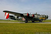 N224J @ KYIP - Consolidated Aircraft B-24J Liberator Witchcraft  C/N 44-44052, NX224J