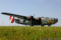 N224J @ KYIP - Consolidated Aircraft B-24J Liberator Witchcraft  C/N 44-44052, NX224J