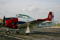 N28100 @ KYIP - North American T-28A Trojan  C/N 49-1703A, NX28100