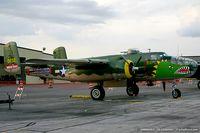 N3155G @ KYIP - North American TB-25N Mitchell Take off time  C/N 44-30832A, N3155G