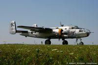 N3774 @ KYIP - North American B-25D Mitchell Yankee Warrior  C/N 43-3634 - Yankee Air Museum, N3774