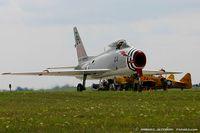 N400FS @ KYIP - North American FJ-4B Fury  C/N 143575 - Dr. Rich Sugden, N400FS