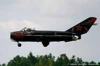 N406DM @ KYIP - Mikoyan-Gurevich MIG-17T  C/N 613, N406DM