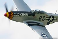 N451MG @ KYIP - North American P-51D Mustang Old Crow  C/N 44-74774, NL451MG