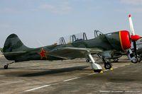 N524JS @ KYIP - Yakovlev (Aerostar) Yak-52TW  C/N 312410, N524JS