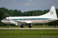 N640CM @ KYIP - Convair 640-340D  C/N 104, N640CM