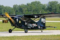 N6707C @ KYIP - Stinson L-5B Sentinel  C/N 44-16897, N6707C