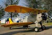 N73449 @ KYIP - Boeing A75N1(PT17) Stearman  C/N 75-3546, N73449