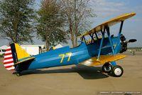 N79650 @ KYIP - Boeing E75N1 Stearman  C/N 75-5770 - Dave Groh, N79650 - by Dariusz Jezewski www.FotoDj.com