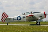 N87H @ KYIP - North American AT-6D Texan  C/N 41-34571, N87H