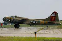 N93012 @ KYIP - Boeing B-17G Flying Fortress Nine O Nine  C/N 32264, N93012