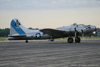 N9323Z @ KYIP - Boeing B-17G Flying Fortress Sentimental Journey  C/N 44-83514, N9323Z
