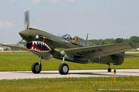 N9837A @ KYIP - Curtiss P-40N Warhawk  C/N 33108, N9837A