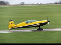 G-MIII @ EGBK - Parking on the apron at Sywell Aerodrome. - by Luke Smith-Whelan