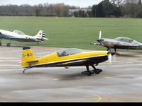 G-MIII @ EGBK - Parking on the apron at Sywell Aerodrome. The pilot is also waving at myself as I was taking photos. - by Luke Smith-Whelan