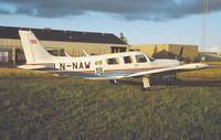 LN-NAW @ BLL - Billund 3.8.1996.Crashed Bjorli Airport Oppland Norway.25.7.1997 - by leo larsen