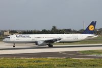 D-AIRB @ LMML - A321 D-AIRB Lufthansa - by Raymond Zammit