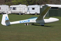 G-CKCM @ X2EF - Privately owned. - by Howard J Curtis