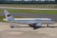 LZ-LAA @ EDDL - Airbus A320-231 - 1T BUC Bulgarian Air Charter - 256 - LZ-LAA - 17.08.2016 - DUS - by Ralf Winter