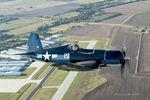 N451FG @ LNC - Photo shoot over Lancaster Airport, TX  Chuck Gardner - Corsair Pilot Mark Todd - Photo ship pilot