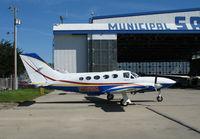N2616N @ KSNS - 1979 Cessna 414A Chancellor @ Salinas Municipal Airport, CA