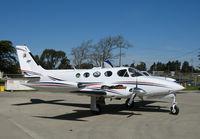 N340TS @ KSNS - Caledonian Air 1980 Cessna 340A @ Salinas Municipal Airport, CA