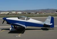 N976DP @ KKIC - 1998 Vans RV-6 visiting Sean Tucker's aerobatics school on his ramp @ Mesa Del Rey Airport (King City, CA)