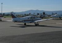 N2147G @ KRHV - Locally-based 1978 Piper PA-28-161 Cherokee taxiing @ Reid-Hillview Airport (San Jose), CA