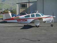 N1530W @ KRHV - 1972 Beech V35B for sale @ Reid-Hillview Airport (San Jose), CA (to Mather Aviation, Rancho Cordova, CA 2008-03-07)
