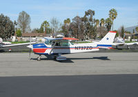 N737ZD @ KRHV - HP Air 1977 Cessna 172N taxiing @ Reid-Hillview Airport (San Jose), CA home base