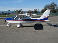 N146TB @ KRHV - Newly imported 2006 Tecnam P-2004 Bravo light sport @ Reid-Hillview Airport (San Jose), CA
