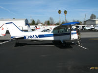 N23AT @ KRHV - Nice Air 1978 Cessna 172N Skyhawk minus engine @ Reid-Hillview Airport (San Jose), CA home base