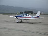 N991TS @ KSNS - New 2006 Tecnam P-2002 Sierra on aircraft dealer's ramp @ Salinas Municipal Airport, CA