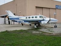 N711BM @ CVH - 1966 Cessna 411@ Hollister Municipal Airport, CA