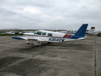N3542W @ CVH - 1966 Piper PA-32-260 Cherokee Six @ Hollister Municipal Airport, CA