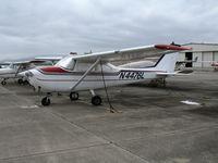 N4476L @ CVH - 1966 Cessna 172G Skylane @ Hollister Municipal Airport, CA