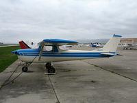 N50283 @ CVH - 1968 cessna 150H @ Hollister Municipal Airport, CA