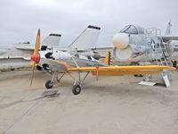 N46795 @ KSEE - San Diego Air & Space Museum (Gillespie Field Annex) - by Daniel Metcalf