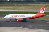 HB-IOX @ EDDL - Airbus A319-112 - 4T BHP Belair Airlines opf Air Berlin Colours Air Berlin - 3604 - HB-IOX - 27.07.2016 - DUS - by Ralf Winter